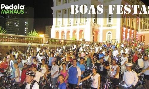 Pedala Manaus deseja Boas Festas e um Feliz 2012!