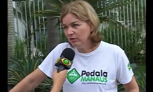 BAND AM: Bicicleta, meio de transporte 'ecológico' ganha as ruas de Manaus