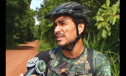EM TEMPO: Jungle Bikers na trilha do ramal de Jandira