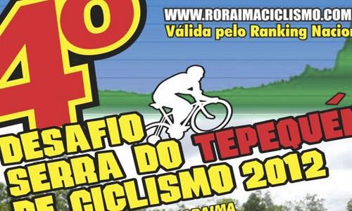 Venha participar do 4o. Desafio Serra do Tepequém de Ciclismo 2012 em Amajari, Roraima