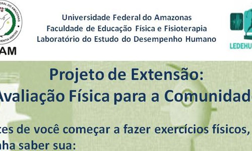 UFAM oferece avaliação física gratuita para a comunidade