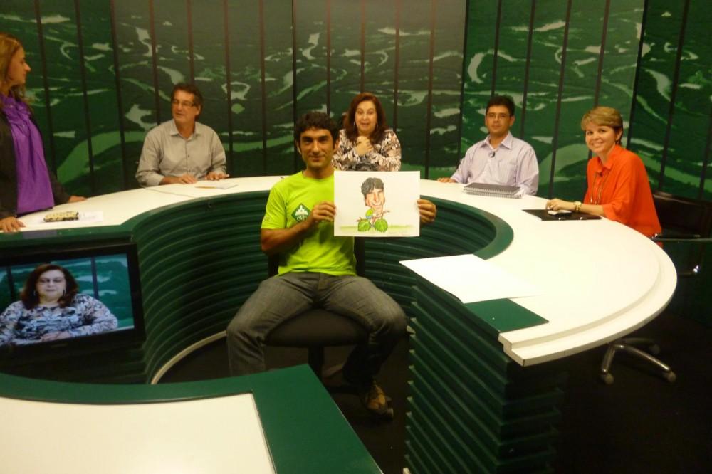 Pedala Manaus participa do programa Roda Viva na TV Cultura Amazonas