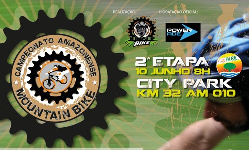 Promoção Pedala Manaus na 2a. Etapa do Amazonense de Mountain Bike
