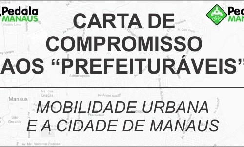 Carta de Compromisso aos candidatos à Prefeitura de Manaus – 2013 a 2016.