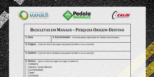 Formulario Origem-Destino - 2013