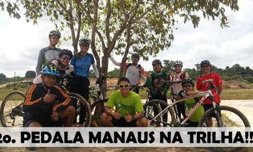 "Pedala Manaus realiza o 2o. ""Pedala Manaus na Trilha"". Confira as fotos…"