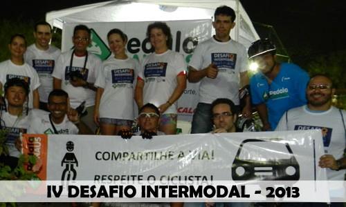 Bicicleta vence o Desafio Intermodal 2013 em Manaus. Confira o que rolou…
